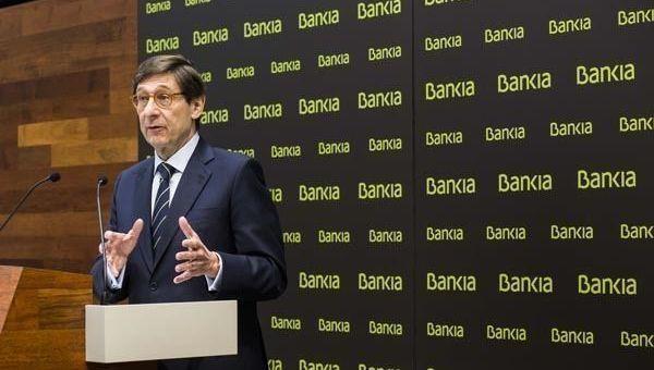 José Ignacio Goirigolzarri, Bankia
