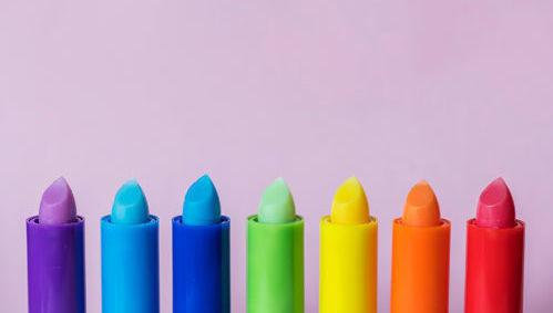 Colores, varios, ceras