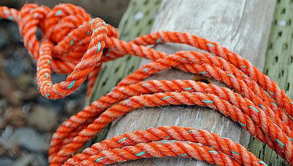 cuerda seguro puerto