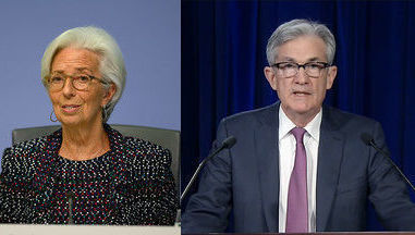 powell-fed-lagarde-bce