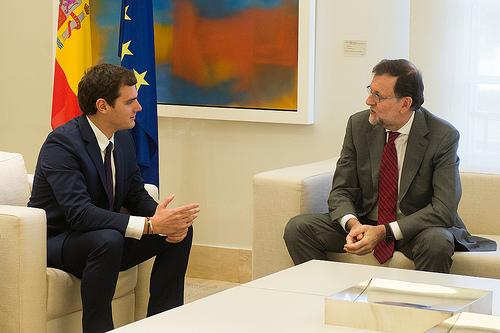 Mariano Rajoy Albert Rivera