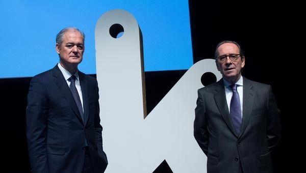 Gregorio Villalabeitia y Javier García Lurueña, Kutxabank