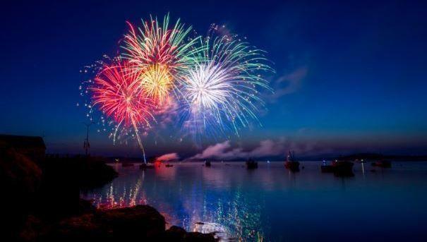 fuegos artificiales, premio, ganador, celebracion