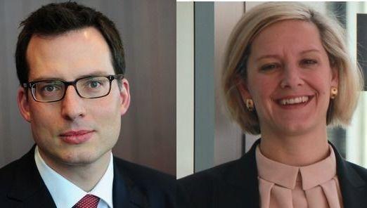 Andreas Zoellinger y Alice Gaskell (BlackRock)