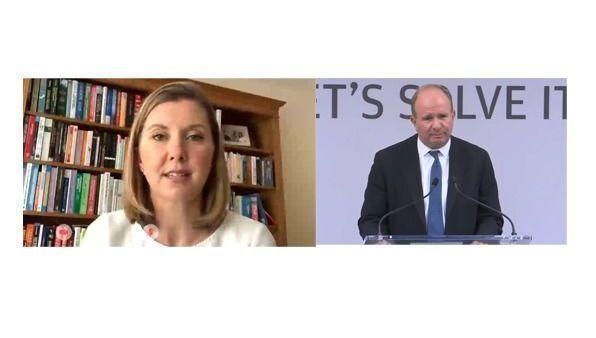 Karen Ward y Bob Michele (JPMorgan AM)