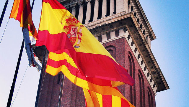 España Cataluña bandera