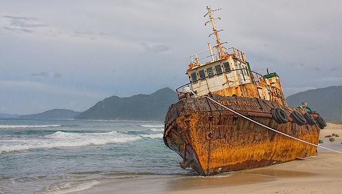 ISR, cambio climático, barco, mar, temporal, encallar