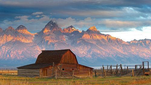 Jackson Hole, EE.UU., Rocosas, Fed, paisaje