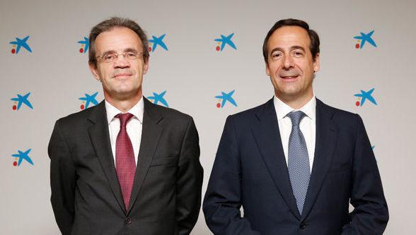 Jordi Gual y Gonzalo Gortázar, Caixabank