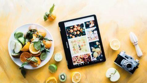 comida, fintech, ESG, ISR, big data, pantalla, cámara