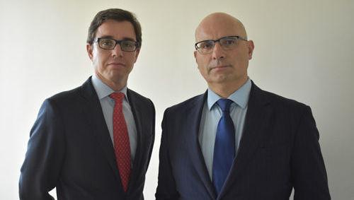 Filipe Bergaña y Firmino Morgado (Man GLG)