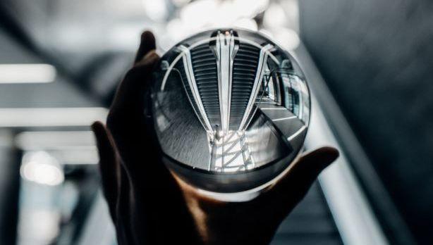 bola de cristal, reflejo, revision, replica, foco
