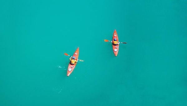 agua canoa dos
