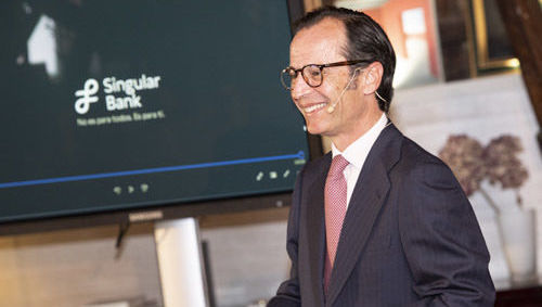 Javier Marin Consejero Delegado Singular Bank