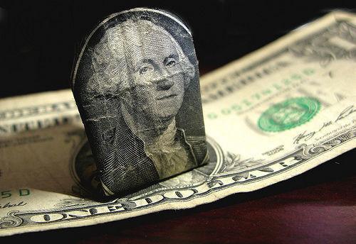 Dólar, billete, EE.UU.