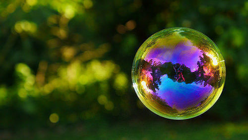 Burbuja, valoración, bolsa