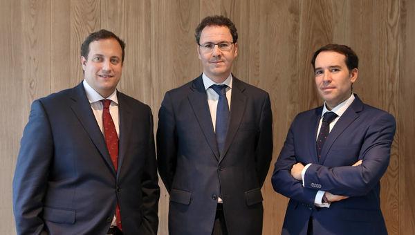 Alejandro Bellón, David López Cereceda y Carlos Palacios ANDBANK