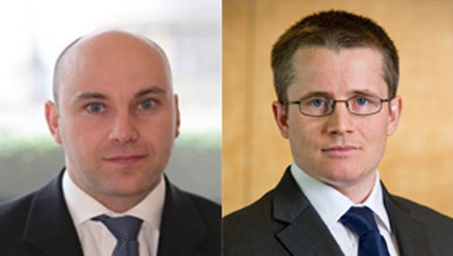 Andrew Evans y Andrew Lyddon (Schroders)
