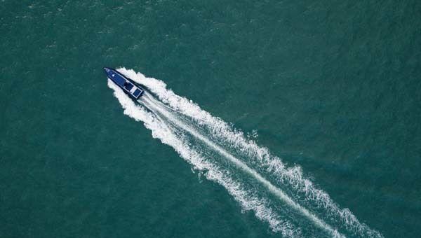 Barco rápido adelantar