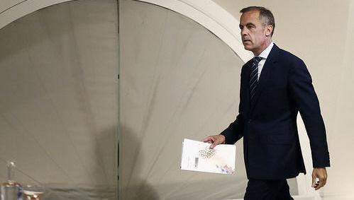 Mark Carney, Banco de Inglaterra, BoE