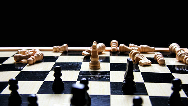 Ajedrez, tablero, estrategia, riesgos, renta fija