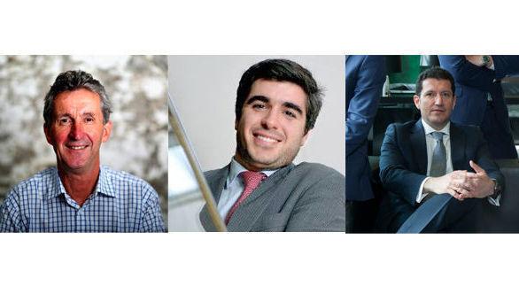 Nick McBreen, Francisco Amorim, Ignacio Martín Ocaña