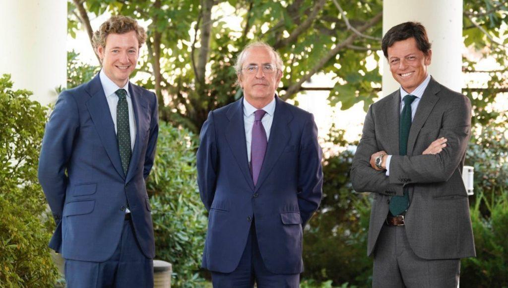 Alejandro Sarrate, Javier Dorado y Tasio del Castaño