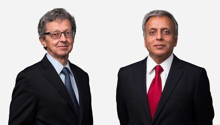 Yves Balcer y Sanjiv Kumar (FORT)