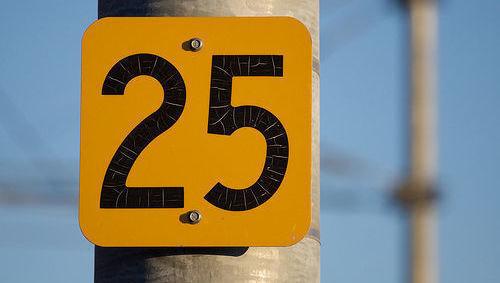 25, veinticinco, número