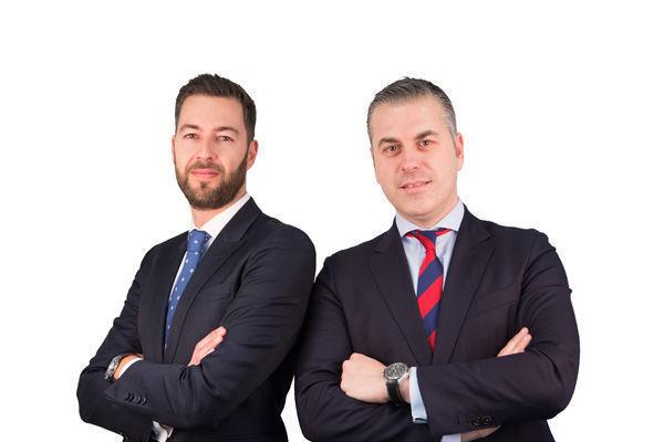 Mateo y David, banqueros A&G Santander