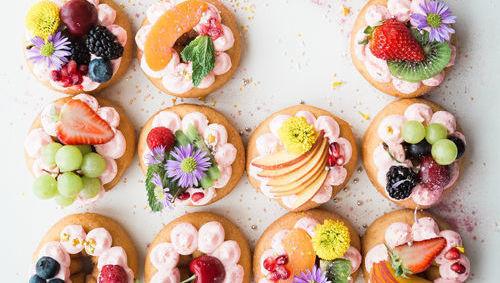 distribución, tarta