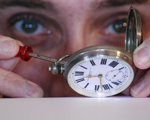 Reloj, análisis, construcción de carteras