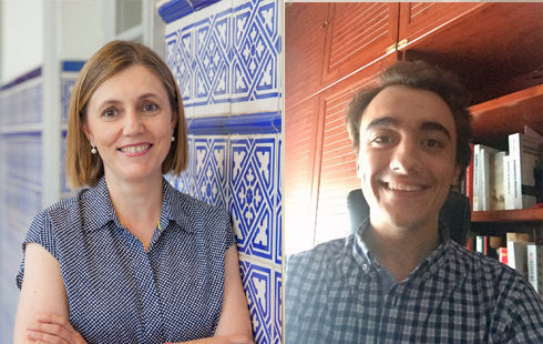 Lorenzo de Benito y Susana de los Rios, Icade