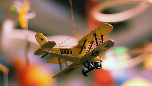 Lanzamientos, avión, negocio