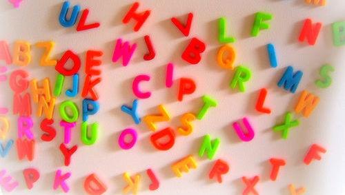 Letras, abecedario