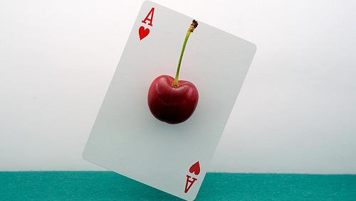 As, gestión, cereza, carta, destacado