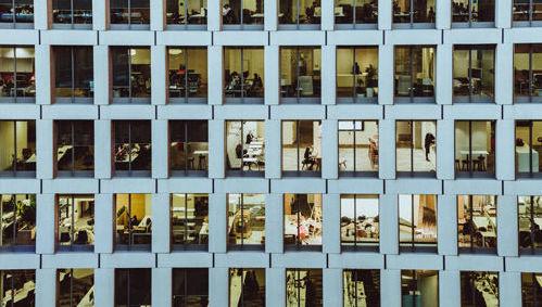 trabajadores oficina