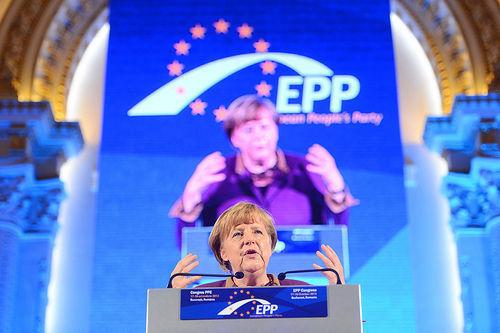 Angela Merkel, Alemania