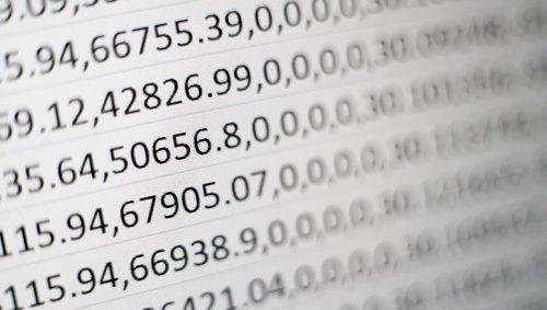 números cifras datos