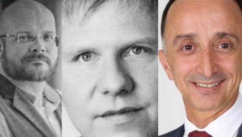 Jon Beckett, Michael Muller y Tony Yousefian