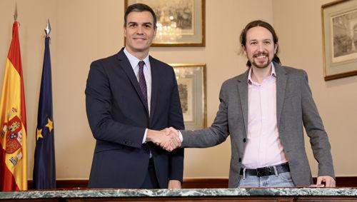 PSOE Podemos Pedro Sanchez Pablo Iglesias
