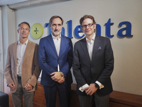 Manuel Jaffrin, Jordi Jofre y Roger Miralles.