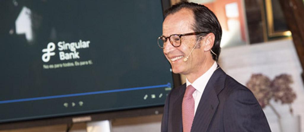 Javier Marin Singular Bank