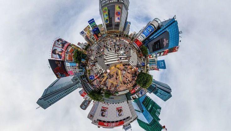 Ciudad planeta mundo