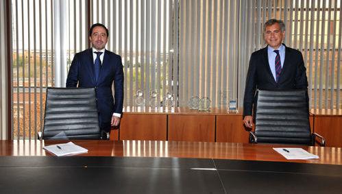 Alberto Cid (Inversis) Diego López (Accenture)