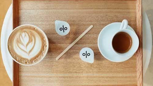 porcentaje, café, cuota