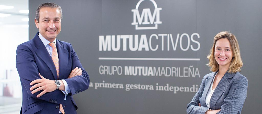 Benito López-Sors y Sofía García, dtores ventas institucionales Mutuactivos