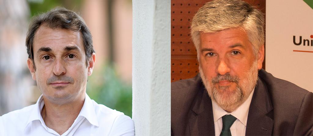 David Levy y Emilio Mejía