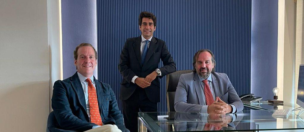 Jaime Ventura, Juan Ruiz, Francisco Fontán