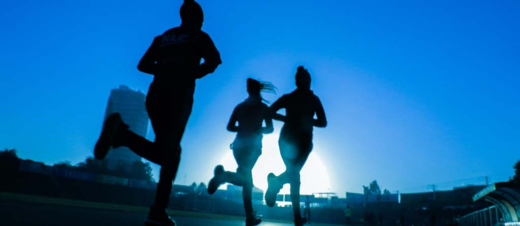 movimiento, correr., carrera